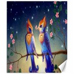 Peaceful And Love Birds Canvas 8  x 10