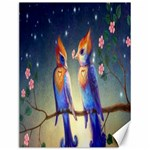 Peaceful And Love Birds Canvas 12  x 16