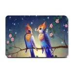 Peaceful And Love Birds Small Doormat