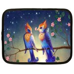 Peaceful And Love Birds Netbook Case (Large)