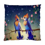 Peaceful And Love Birds Cushion Case (Two Sides)