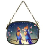 Peaceful And Love Birds Chain Purse (Two Sides)