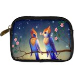 Peaceful And Love Birds Digital Camera Leather Case