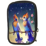 Peaceful And Love Birds Compact Camera Leather Case