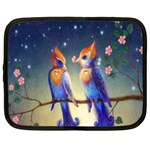Peaceful And Love Birds Netbook Case (XXL)