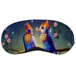 Peaceful And Love Birds Sleeping Mask
