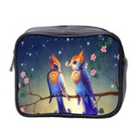 Peaceful And Love Birds Mini Toiletries Bag (Two Sides)