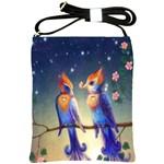 Peaceful And Love Birds Shoulder Sling Bag