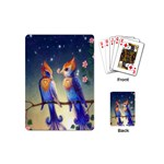 Peaceful And Love Birds Playing Cards (Mini)