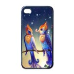 Peaceful And Love Birds Apple iPhone 4 Case (Black)