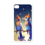 Peaceful And Love Birds Apple iPhone 4 Case (White)