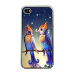 Peaceful And Love Birds Apple iPhone 4 Case (Clear)