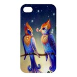 Peaceful And Love Birds Apple iPhone 4/4S Premium Hardshell Case