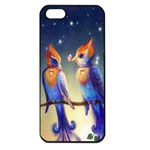 Peaceful And Love Birds Apple iPhone 5 Seamless Case (Black)
