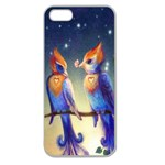 Peaceful And Love Birds Apple Seamless iPhone 5 Case (Clear)