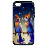 Peaceful And Love Birds Apple iPhone 5 Hardshell Case (PC+Silicone)