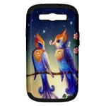 Peaceful And Love Birds Samsung Galaxy S III Hardshell Case (PC+Silicone)