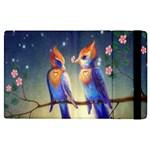 Peaceful And Love Birds Apple iPad 2 Flip Case