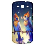 Peaceful And Love Birds Samsung Galaxy S3 S III Classic Hardshell Back Case