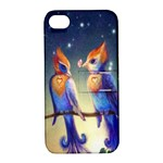 Peaceful And Love Birds Apple iPhone 4/4S Hardshell Case with Stand
