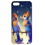 Peaceful And Love Birds Apple iPhone 5 Hardshell Case with Stand