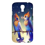 Peaceful And Love Birds Samsung Galaxy S4 I9500 Hardshell Case