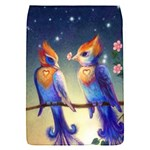 Peaceful And Love Birds Removable Flap Cover (Small)