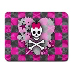 Princess Skull Heart Small Mousepad