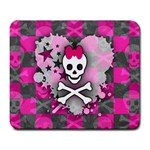 Princess Skull Heart Large Mousepad