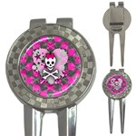 Princess Skull Heart 3-in-1 Golf Divot