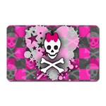 Princess Skull Heart Magnet (Rectangular)