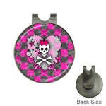 Princess Skull Heart Golf Ball Marker Hat Clip