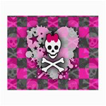 Princess Skull Heart Glasses Cloth (Small)