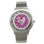 Princess Skull Heart Stainless Steel Watch
