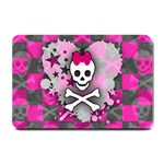 Princess Skull Heart Small Doormat