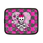 Princess Skull Heart Netbook Case (Small)
