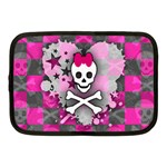 Princess Skull Heart Netbook Case (Medium)