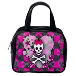 Princess Skull Heart Classic Handbag (One Side)