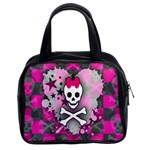 Princess Skull Heart Classic Handbag (Two Sides)