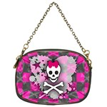 Princess Skull Heart Chain Purse (One Side)