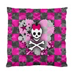Princess Skull Heart Cushion Case (One Side)