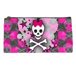 Princess Skull Heart Pencil Case