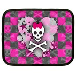 Princess Skull Heart Netbook Case (XL)