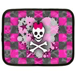 Princess Skull Heart Netbook Case (XXL)