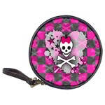Princess Skull Heart Classic 20-CD Wallet