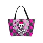 Princess Skull Heart Classic Shoulder Handbag