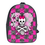 Princess Skull Heart School Bag (Large)
