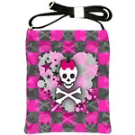Princess Skull Heart Shoulder Sling Bag