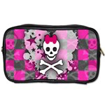 Princess Skull Heart Toiletries Bag (One Side)