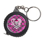 Princess Skull Heart Measuring Tape